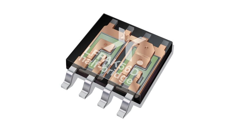 Nexperia Industrial & Automotive LFPAK56D half-bridge MOSFETs