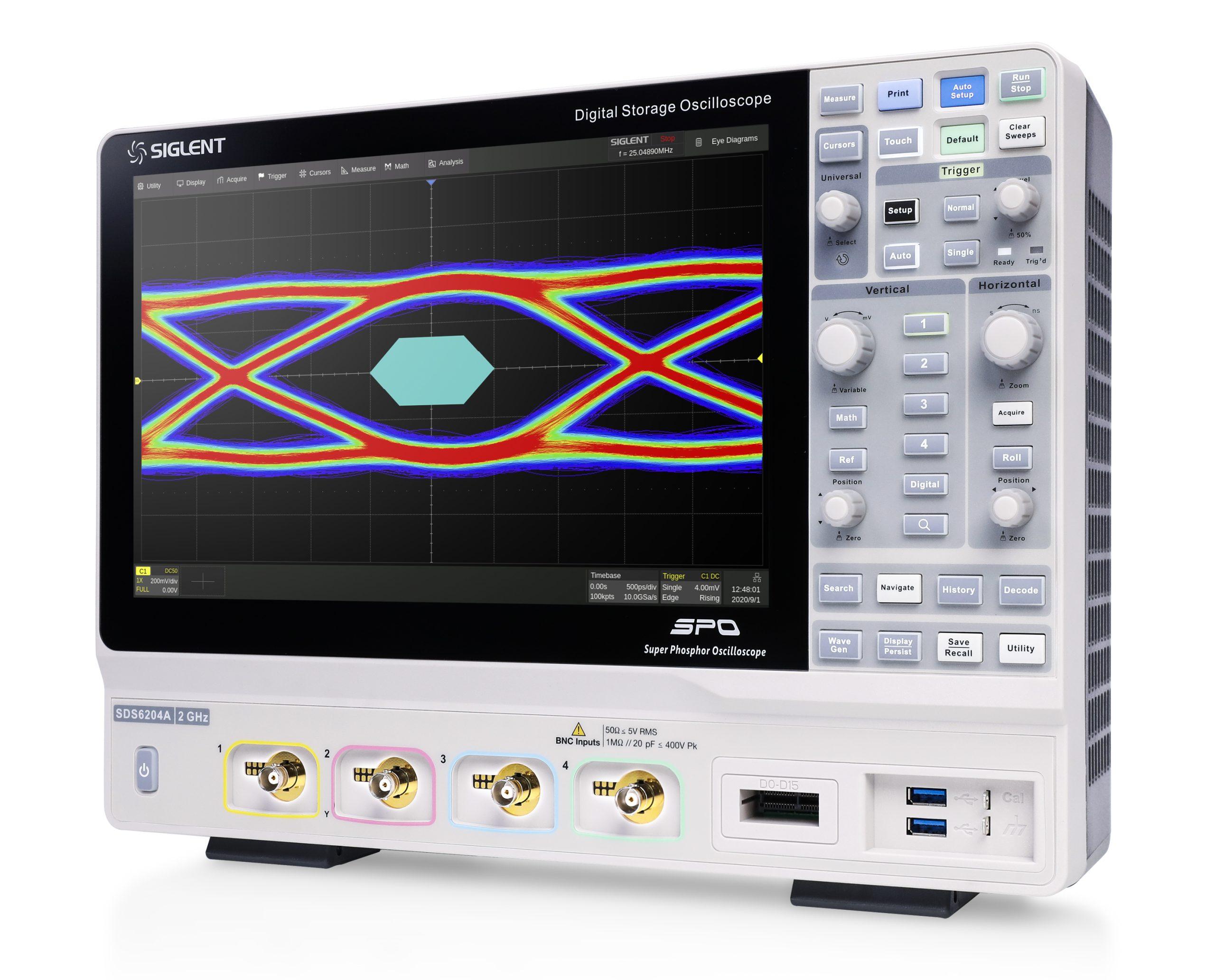 Siglent SDS6000A 2GHz Digital Oscilloscope Series