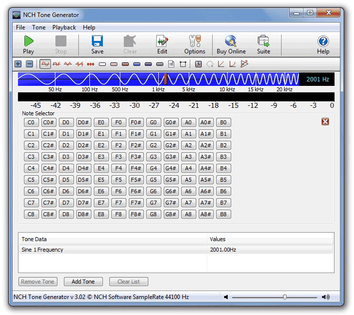 PC Measurements Software - Electronics Lab
