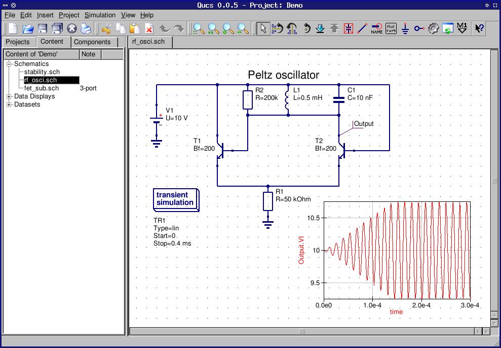 electronic circuit design simulation software electronics lab