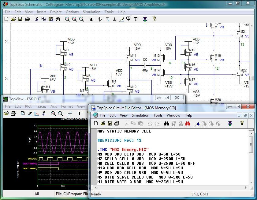 pspice 9 1 student version download electronics lab